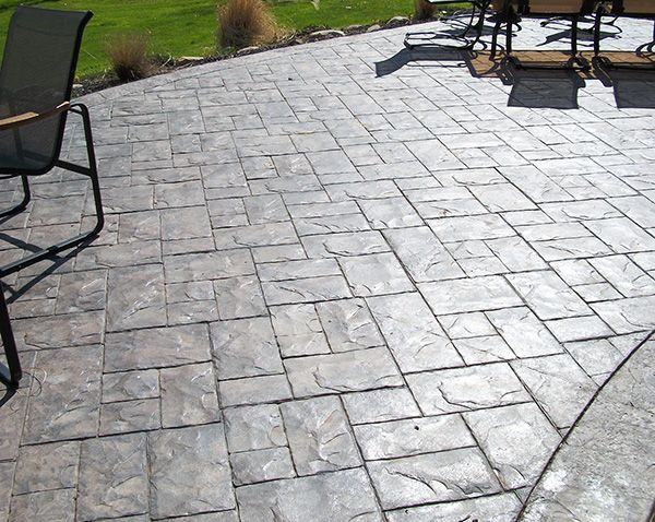 Stampted Concrete Patio