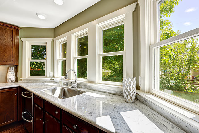 quality wood windows for home